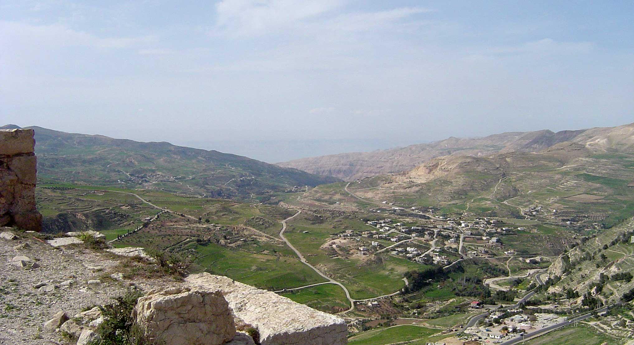 Karak Jordan  city images : Pics Photos Looking Out On The Jordon Valley